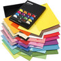 Color Bar papier, diverse kleuren, A4, 210x297 mm, 100 gr, 16x10 vel/ 1 doos