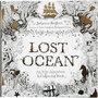 Kleurboek, afm 25x25 cm,  80 pagina´s, Lost Ocean, 1stuk