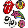 Soft Stickers , Rock Out, 12,2x17,75 cm, 1 vel