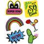 Soft Stickers , Super Star, 12,2x17,75 cm, 1 vel