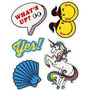 Soft Stickers , Whats up, 12,2x17,75 cm, 1 vel
