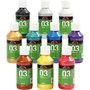 A-Color acrylverf, diverse kleuren, metallic, 10x120 ml/ 1 doos