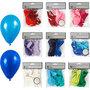 Ballonnen, diverse kleuren, 30 doos/ 1 doos