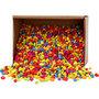 Mozaiek stenen, sterke kleuren, afm 8-10 mm, 2 kg/ 1 doos