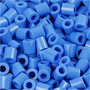 Foto kralen, blauw (17), afm 5x5 mm, gatgrootte 2,5 mm, 1100 stuk/ 1 doos