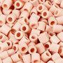 Foto kralen, roze (18), afm 5x5 mm, gatgrootte 2,5 mm, 1100 stuk/ 1 doos