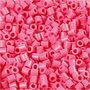 Foto kralen, antiek roze (25), afm 5x5 mm, gatgrootte 2,5 mm, 6000 stuk/ 1 doos