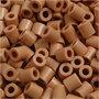 Strijkkralen, lichtbruin (32260), afm 5x5 mm, gatgrootte 2,5 mm, medium, 6000 stuk/ 1 doos