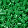 Foto kralen, groen (16), afm 5x5 mm, gatgrootte 2,5 mm, 1100 stuk/ 1 doos