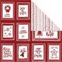Design papier, lijsten met tekst en doodles, 30,5x30,5 cm, 180 gr, 5 vel/ 1 doos