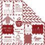 Design papier, breiwerk, 30,5x30,5 cm, 180 gr, 5 vel/ 1 doos