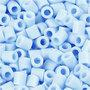 Foto kralen, lichtblauw (28), afm 5x5 mm, gatgrootte 2,5 mm, 1100 stuk/ 1 doos