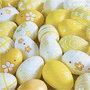 Servetten, afm 33x33 cm, , gedecoreerde eieren, 20stuks