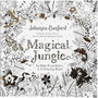 Kleurboek, afm 25x25 cm,  80 pagina´s, Magical Jungle, 1stuk