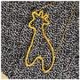 Hanger - Giraffe - Wol - Dierenhanger - Handmade - Decoratief