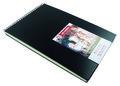 Schetsboek - Tekenboek - Met ringband - Zwart - 42x29,87cm - Art Creation - 1 stuk